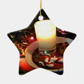 Christmas Cookie Candle I Ceramic Ornament