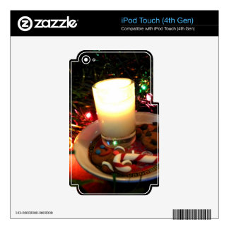 Christmas Cookie Candle I Decal For iPod Touch 4G