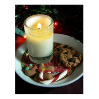 Christmas Cookie Candle III Postcard