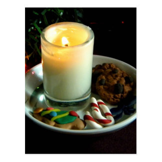 Christmas Cookie Candle IV Postcard