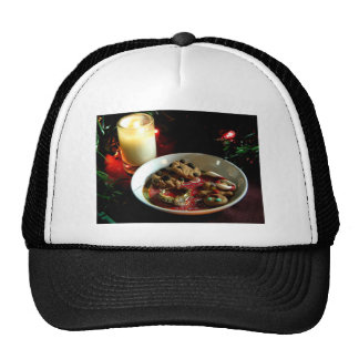 Christmas Cookie Candle Trucker Hat