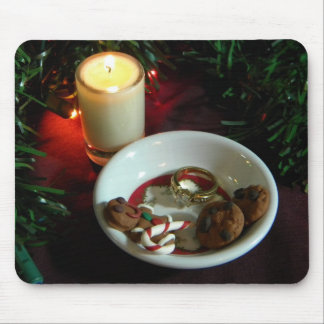 Christmas Cookie Candle V Mouse Pad