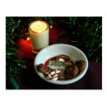 Christmas Cookie Candle V Postcards