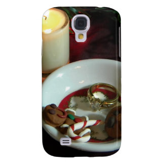 Christmas Cookie Candle V Samsung Galaxy S4 Cover