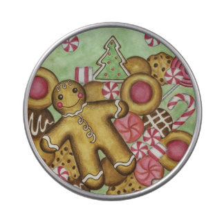 Christmas Cookie Candy Tin Gift