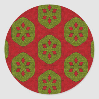 Christmas Cookie Classic Round Sticker