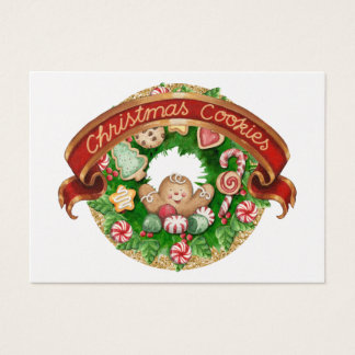 Christmas Cookie Enclosure Card - See Back