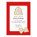 Christmas Cookie Exchange Holiday Party Invitation