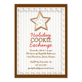 Christmas Cookie Exchange Holiday Sweet Invitation