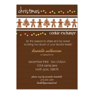 Christmas Cookie Exchange Invitation
