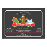 Christmas Cookie Exchange 5x7 Paper Invitation Card