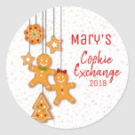 """Christmas Cookie Exchange Party Stickers<br><div class=""""desc"""">Christmas Cookie Exchange Party Stickers</div>"""
