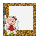 Christmas Cookie Fairy Dry-Erase Whiteboards