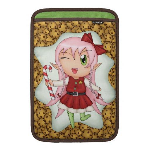 Christmas Cookie Fairy MacBook Air Sleeves
