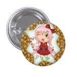 Christmas Cookie Fairy Pins