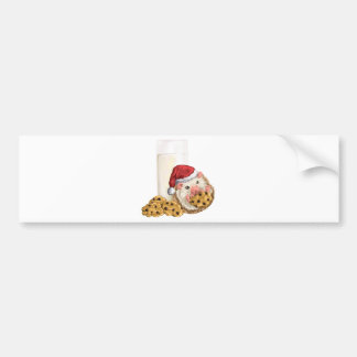 Christmas Cookie Hog Bumper Sticker