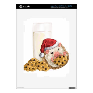 Christmas Cookie Hog Decal For iPad 3