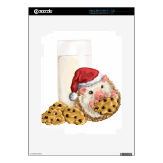 Christmas Cookie Hog iPad 2 Skin