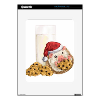 Christmas Cookie Hog Skin For iPad