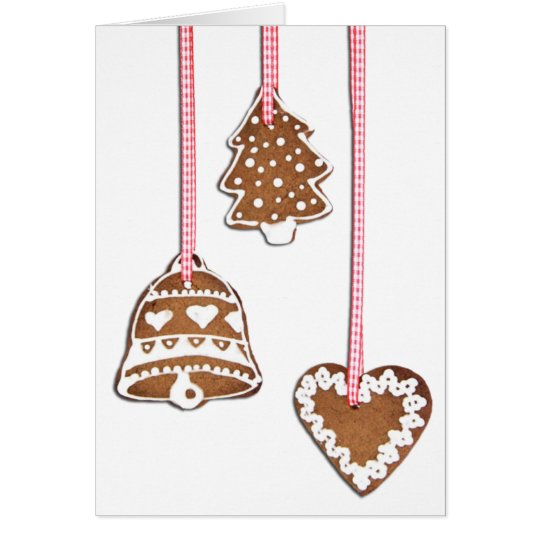 Christmas Cookie Ornaments Card
