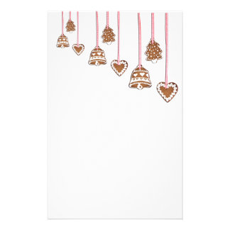 Christmas Cookie Ornaments Stationery