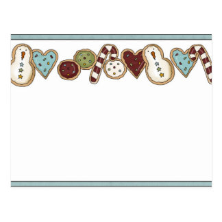 Christmas Cookie Post Card