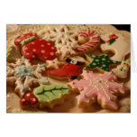 Christmas cookie recipe card