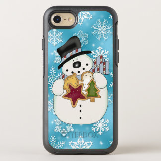 Christmas cookie snowman iPhone 7