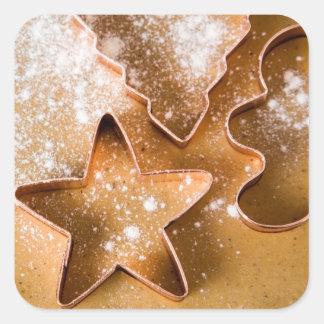 Christmas cookie sticker