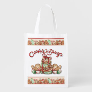 Christmas Cookie Swap - Grocery, Gift, Favor Bag