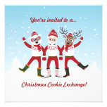 Christmas Cookie Swap Party Invite