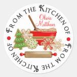 Christmas Cookie Swap Stickers