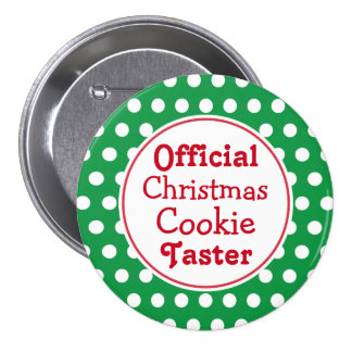 Christmas Cookie Taster Button