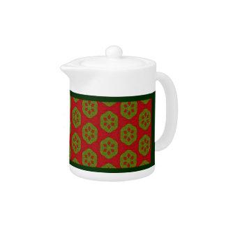 Christmas Cookie Teapot
