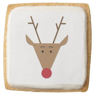 Christmas Cookie the Red Nose Reindeer