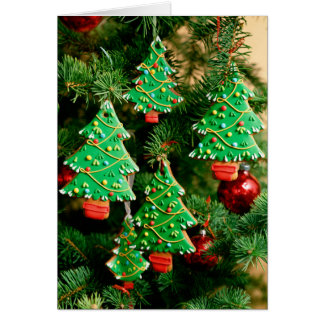 Christmas Cookie Tree Greeting Card