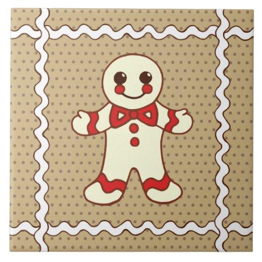 Christmas Cookie Trivet Tile