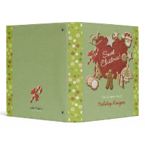 Christmas cookies 3 ring binder