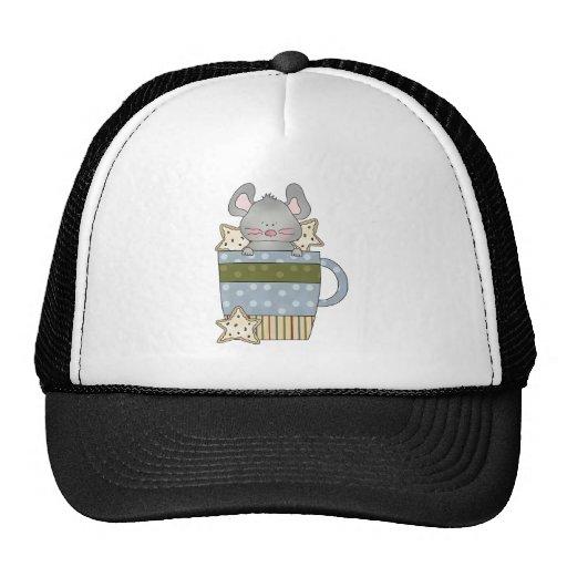 christmas cookies and mouse mug trucker hat
