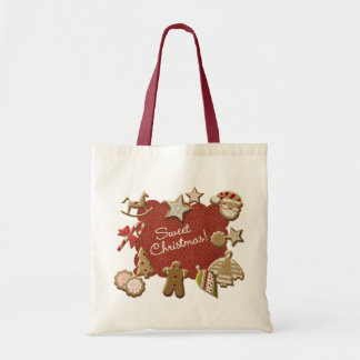 Christmas cookies canvas bags