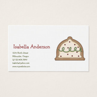 Christmas Cookies · Bell Business Card