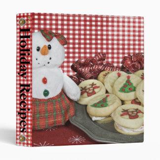 Christmas Cookies Binder