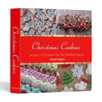 Christmas Cookies Binder