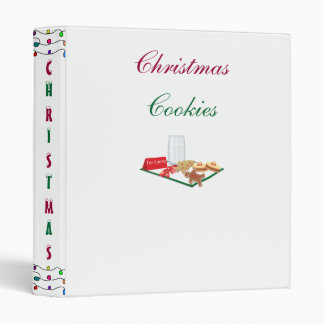 Christmas Cookies - binders