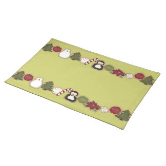 Christmas Cookies Cloth Placemat