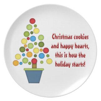 Christmas Saying Plates | Zazzle