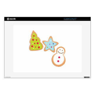 """Christmas Cookies Decal For 15"""" Laptop"""
