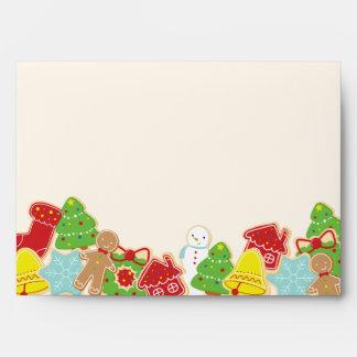 Christmas Cookies Envelopes