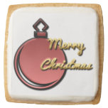 Christmas, cookies, for sale ! square premium shortbread cookie