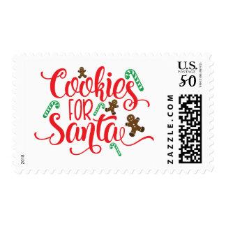 Christmas Cookies for Santa Postage